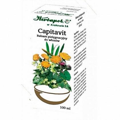Balsam pielęgnacyjny do włosów Capitavit Herbapol 100ml