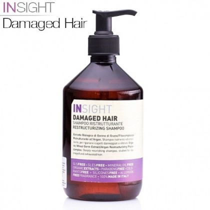 Szampon regenerujący Damaged Hair Insight RESTRUCTURIZING SHAMPOO 500ml