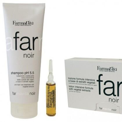Zestaw przeciw wypadaniu włosów Noir Farmavita