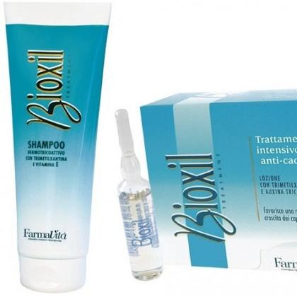 Zestaw przeciw wypadaniu włosów Bioxil Farmavita
