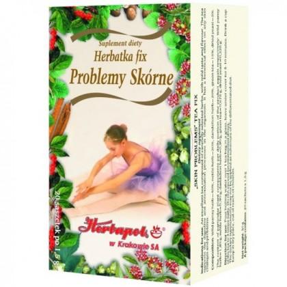 Herbatka Fix Problemy skórne Herbapol
