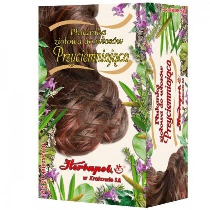 Płukanka ziołowa do włosów przyciemniająca Herbapol