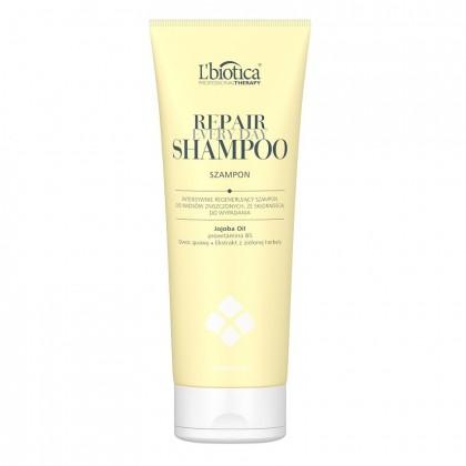 Intensywnie regenerujący szampon do włosów zniszczonych ze skłonnością do wypadania L'biotica 250ml
