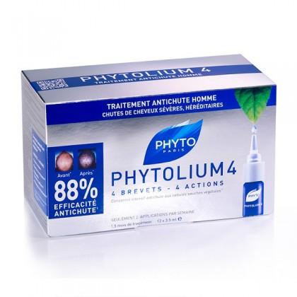Koncentrat przeciw wypadaniu włosów dla mężczyzn PHYTOLIUM 12 x 3.5 ml