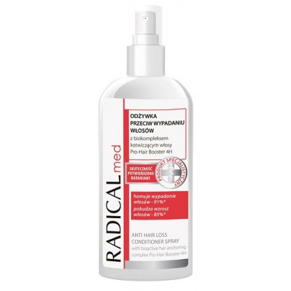 Odżywka powstrzymująca wypadanie włosów w sprayu RADICAL med 200ml